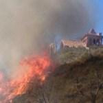 El poniente eleva a nivel de riesgo máximo la posibilidad de incendios en la Comunidad Valenciana