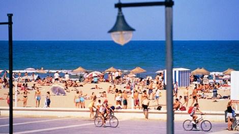 Valencia, paseo marítimo./archivo
