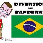 DIVERSIÓN CON BANDERAS: BRASIL