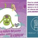 STAND SOLIDARIO EN EL CABAÑAL PARA RECAUDAR FONDOS PARA EL CÁNCER INFANTIL