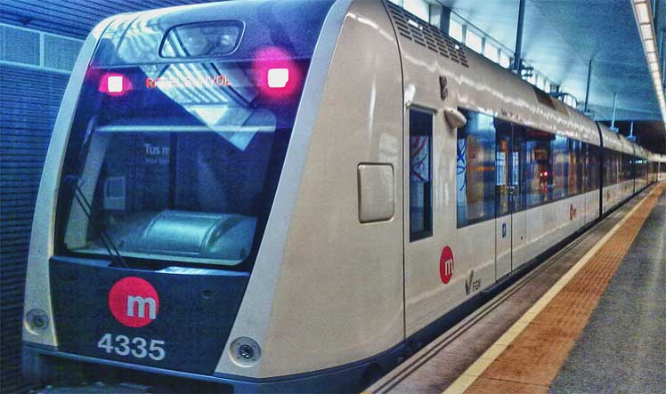 Metrovalencia ofrece servicio 24 horas en Fallas/Img. informaValencia.com