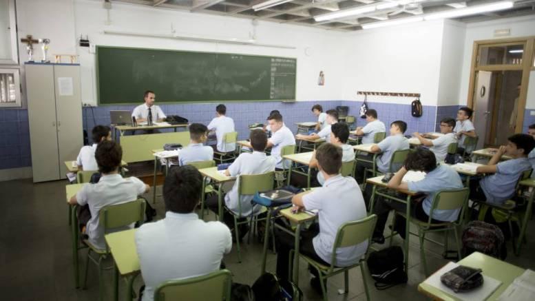 Aula de colegio concertado/iV.com