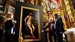 """La parroquia San Nicolás de Valencia ha recuperado el lienzo """"Cristo a la Columna"""", atribuido a Fray Nicolás Borrás/Img. Alberto Sáiz"""
