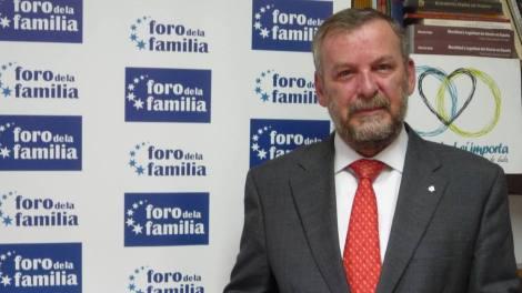 Ignacio García-Juliá, presidente del Foro de la Familia