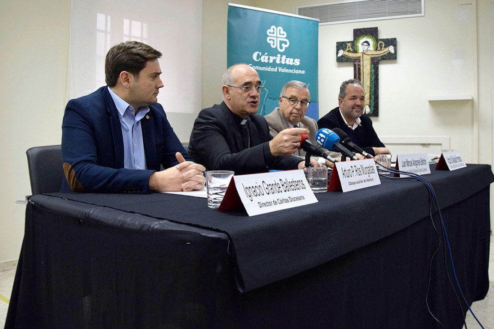 Presentación informe FOESSA C.Valenciana/Img. Inma Miñana