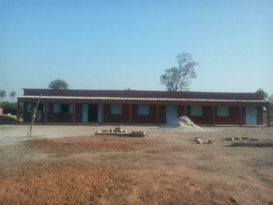 Colegio Albert Ballerini en Djikesse (región de Casamance en Senegal)./Img. informaValencia.com