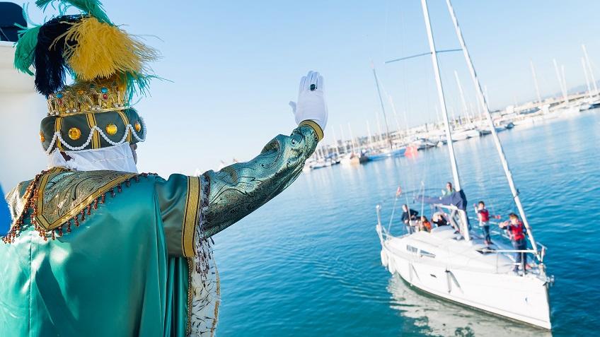 El Emisario de los Reyes Magos llega este viernes a Valencia/Img. informaValencia.com