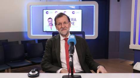 Mariano Rajoy, entrevistado en Cope/Img. Cope