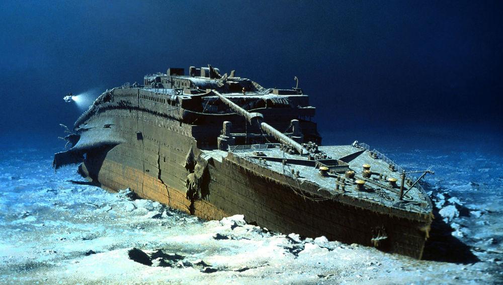 El mítico barco hundido en el Atlántico/Img Rtve
