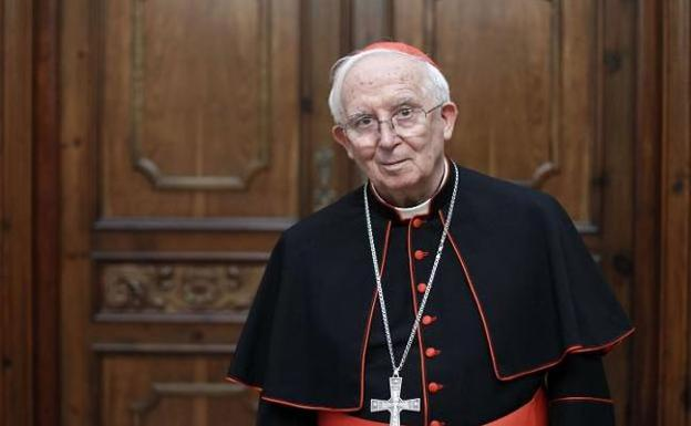 Cardenal arzobispo de Valencia, Antonio Cañizares/Img.M.Guallart