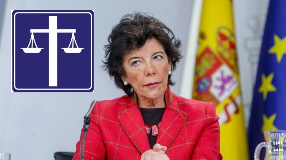 La ministra de Educación, Isabel Celaá en imagen de archivo