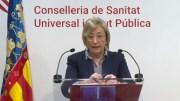 Ana Barceló, consellera de Sanidad Universal y Salud Pública de la Generalitat Valenciana/informaValencia.com
