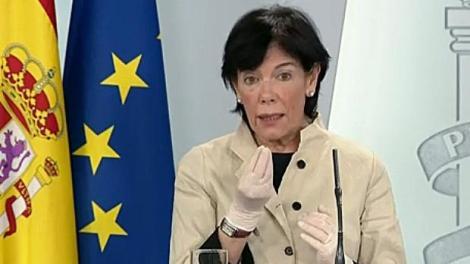 La ministra de Educación Isabel Celaá./Rtve