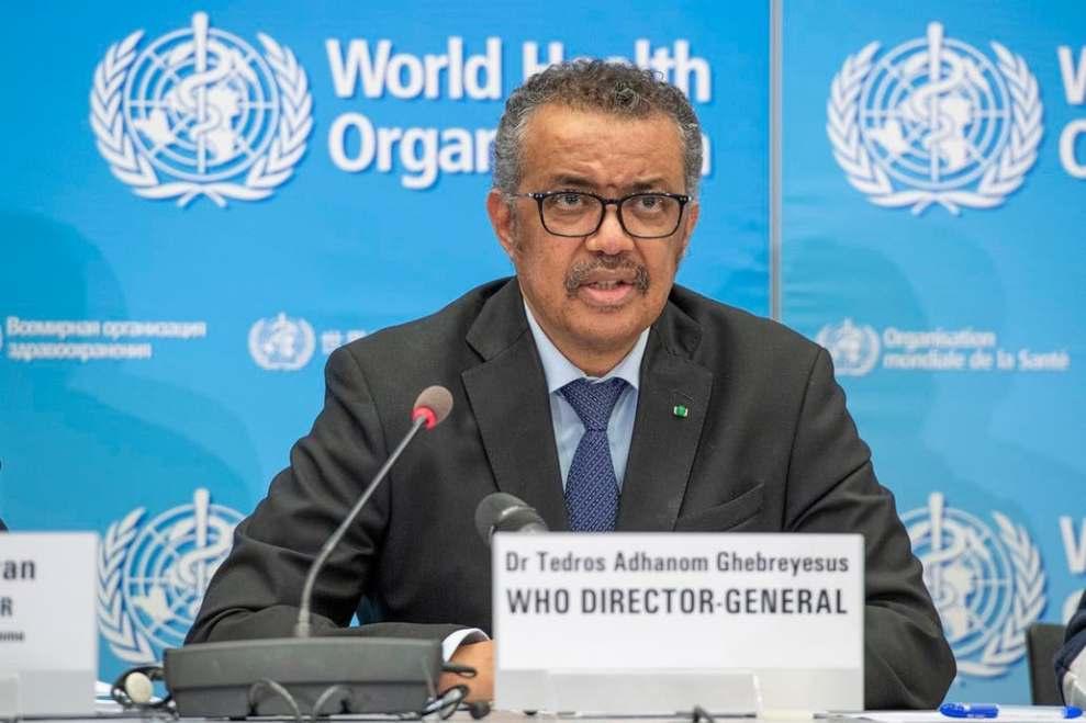 Tedros Adhanom Ghebreyesus, director de la OMS/archivo