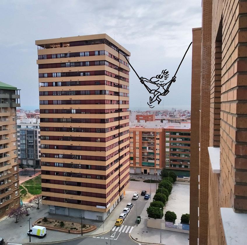 """Desde mi ventana"", ORTIFUS./GVA"