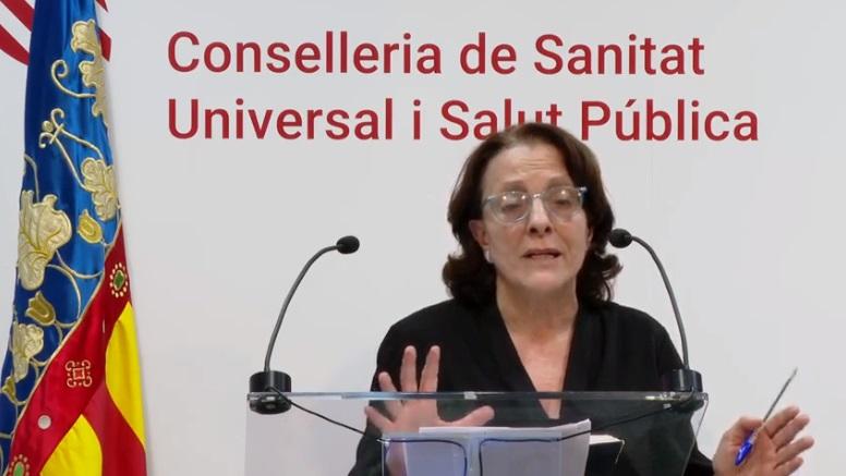 Herme Vanaclocha, La subdirectora general de Epidemiología/informaValencia.com