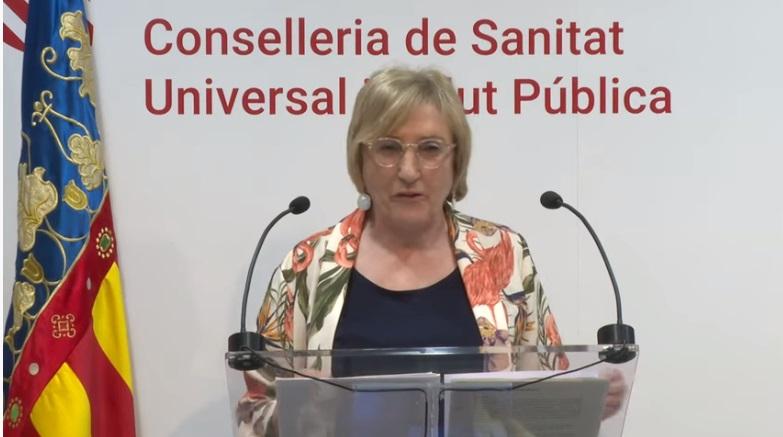 Ana Barceló, consellera de Sanidad de la Generalitat Valenciana/Img. informaValencia.com