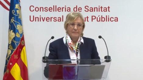 En la imagen, Ana Barceló, consellera de Sanidad/Img. informaValencia.com