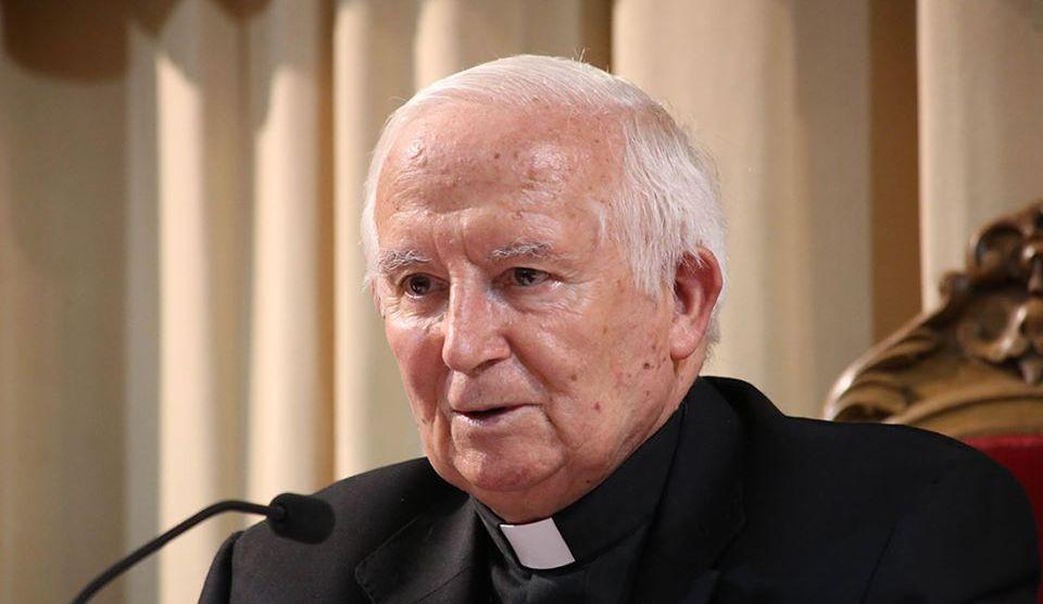 Cardenal Arzobispo de Valencia, don Antonio Cañizares/img. UCV