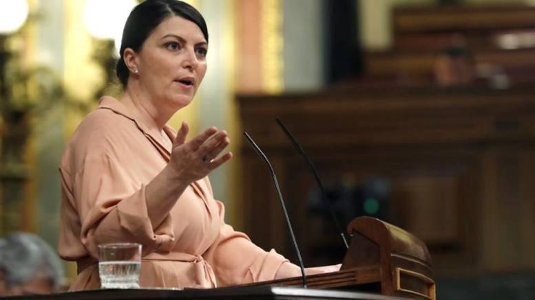 Macarena Olona, portavoz y secretaria general del grupo parlamentario de Vox en el Congreso de los Diputados./informaValencia.com