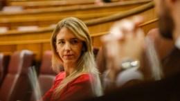 Cayetana Álvarez de Toledo en la bancada del PP en el Congreso/informaValencia.com