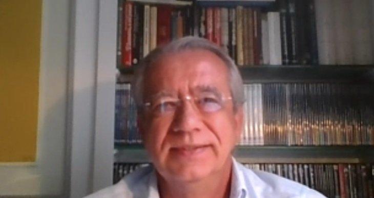 Vicente Garrido durante la webinar del Ateneo/informaValencia.com