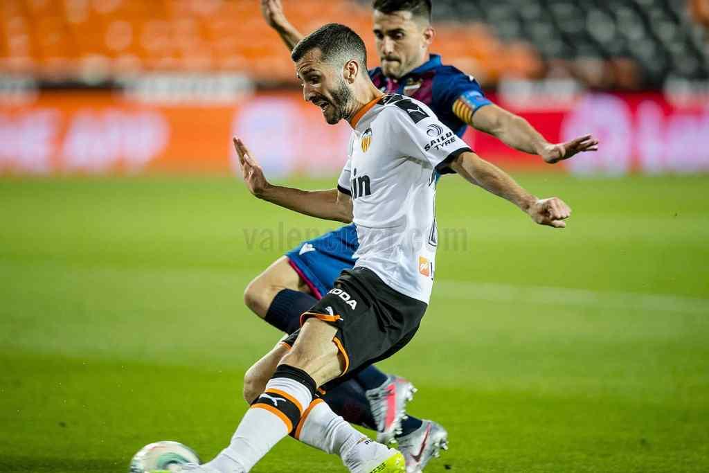José Luis Gayá fue el mejor jugador del partido/VCF