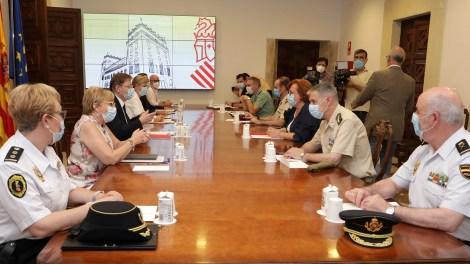 Reunión de seguimiento entre la Generalitat y la Administración General del Estado con motivo de la pandemia de COVID-19/GVA