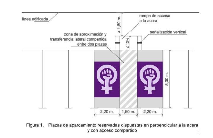 """""""Sola y borracha quiero aparcar en casa"""" es el lema de la propuesta de Montero en el Congreso/Img. J.C."""