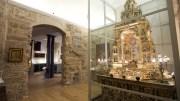 Custodia Procesional en el Museo de la Catedral/Img. Víctor Gutiérrez