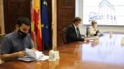 Reunión de Puig, Barceló y Marzá con motivo de la vuelta al cole - GVA