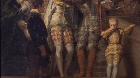 Francisco de Goya: despedida de san Francisco de Borja de su familia en el Palacio Ducal de Gandía - Img. Paco Alcántara