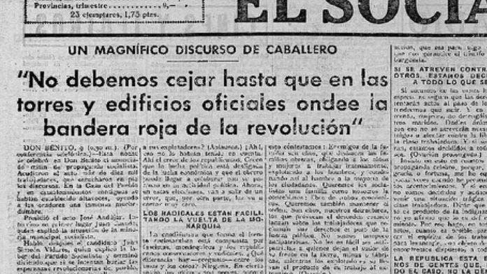 El Socialista era el órgano de propaganda del gobierno criminal de Largo Caballero (1936-37) - iV.com