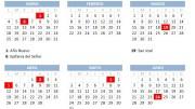 Calendario Laboral 2021 en Valencia. / informaValencia.com
