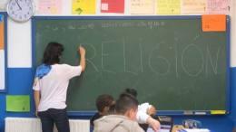 Clase de Religión / Img .Archivo Aleluya
