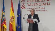 La consellera de Sanidad, Ana Barceló, durante la rueda de prensa/ GVA