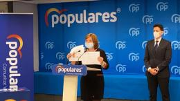 Isabel Bonig durante la rueda de prensa/ Img. PPCV