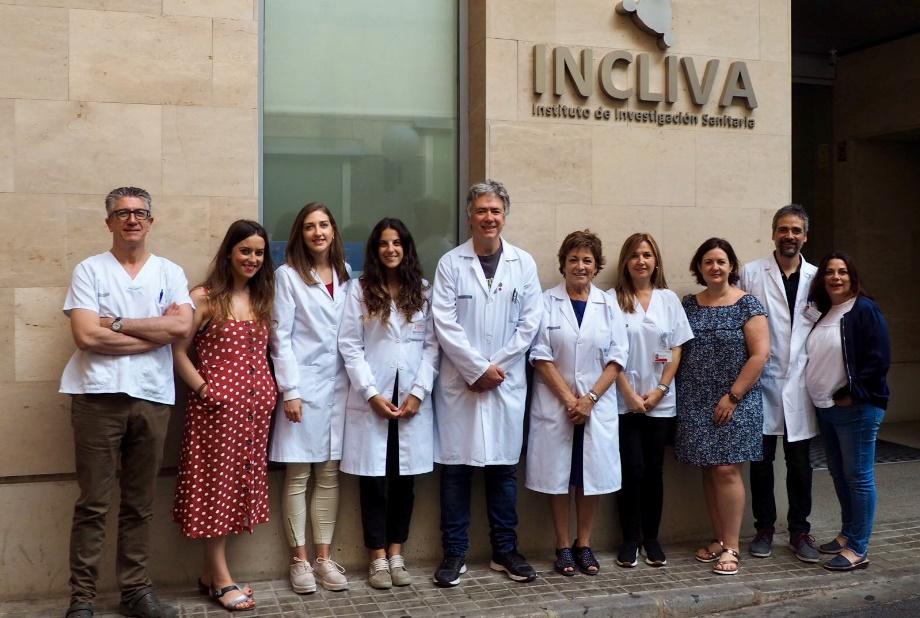 Grupo de investigadores del INCLIVA/. Img. Incliva