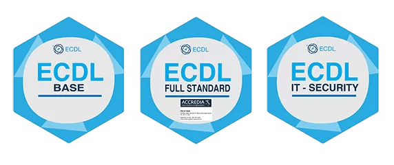 Openbadges ECDL Full Standard IT Security Specialised