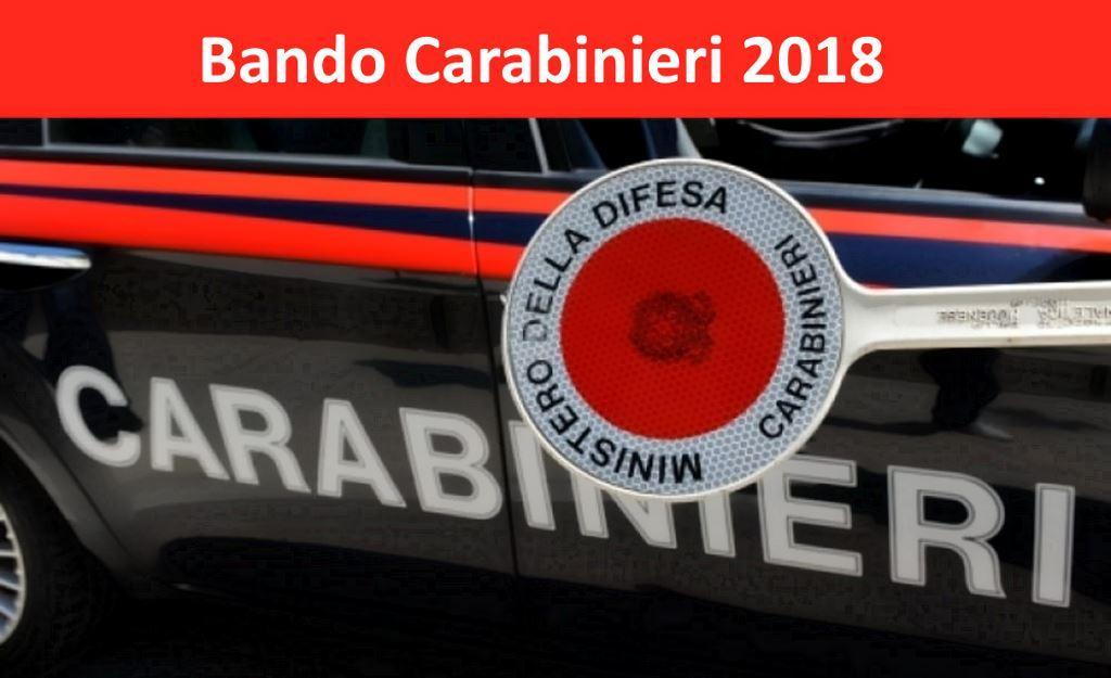 Concorso Carabinieri 2018 L'Arma dei Carabinieri assume 2000 Allievi Carabinieri Certificazione Informatica ECDL incrementa punteggio Simulatore per prepararsi