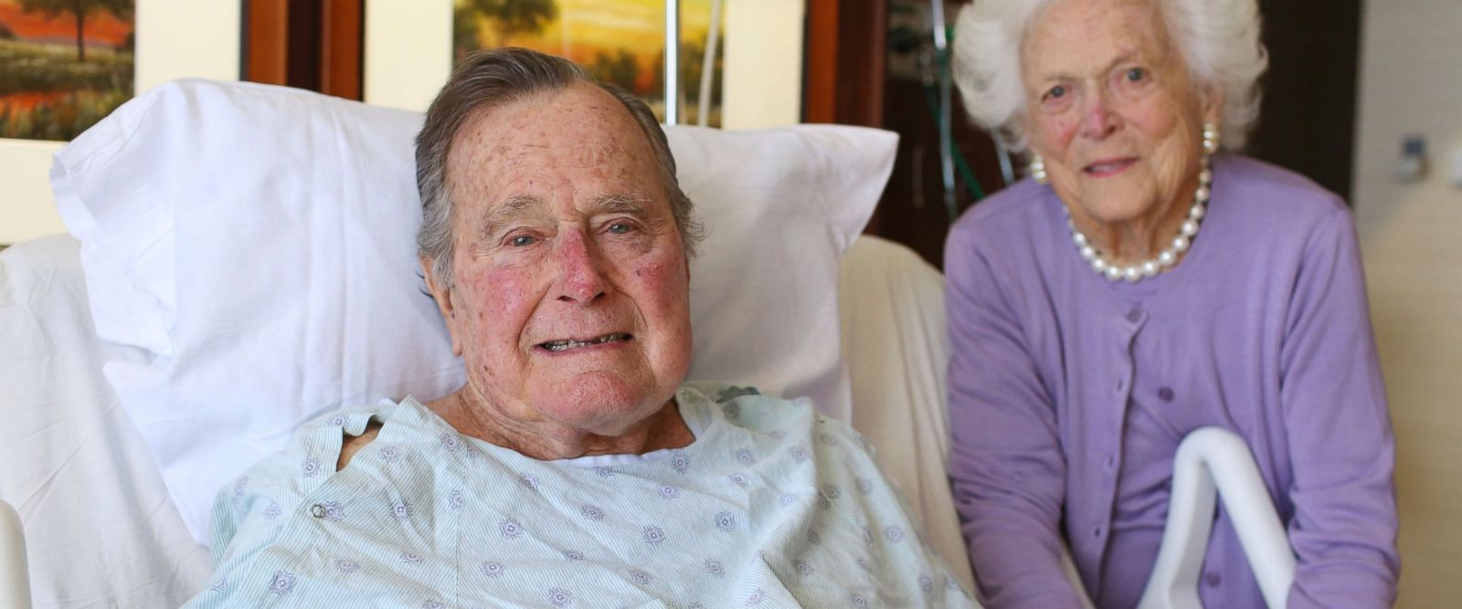 Bush Recovering From Pneumonia