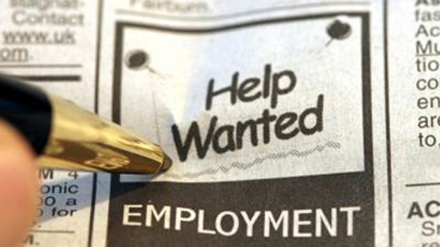 HELP WANTED EMPLOYMENT UNEMPLOYMENT JOB JOBS GENERIC83798483-159532
