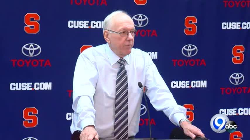 SU coach Jim Boeheim discusses a win over Toledo_24328592-118809342