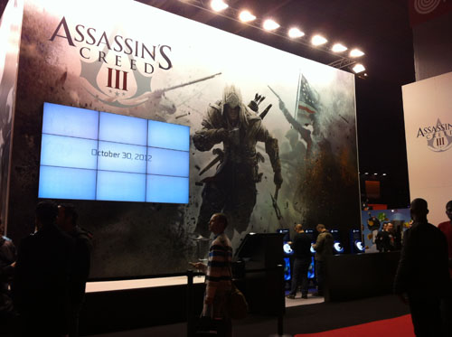 Stand d'Assassins Creed 3