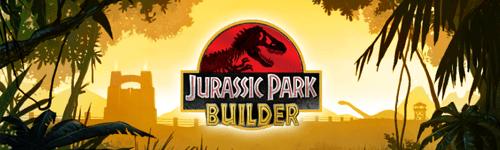 Bannière Jurassic Park Builder