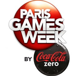 Logo Paris Games Week by Coca-Cola Zéro