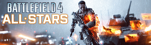 "Bannière Battlefield 4 ""All Stars"""