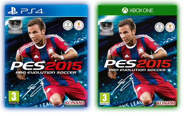 PES 2015 - Covers PS4 et Xbox One