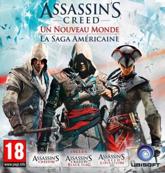 Cover Assassin's Creed - Un Nouveau Monde : La Saga Américaine