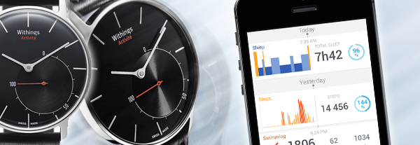 Montre Activité de Withings